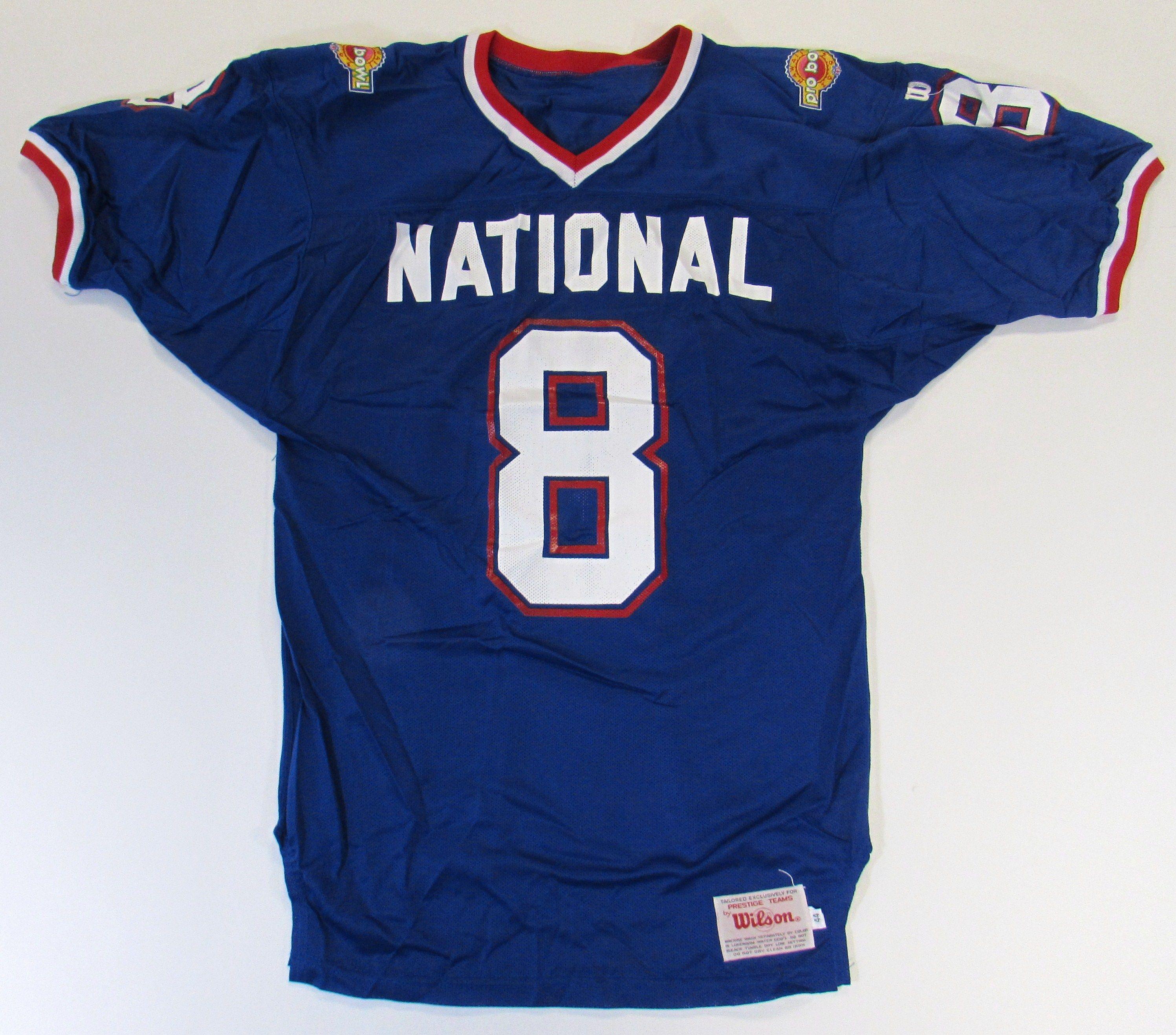 timeless design 87e50 8bede Lot Detail - 1994 Steve Young Signed GI Pro Bowl Jersey