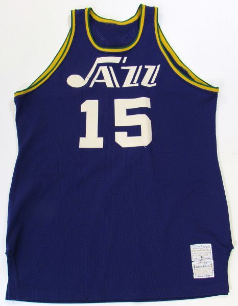 1974-75 Bud Stallworth New Orleans Jazz Game Used Jersey (Jazz Inaugural Season)