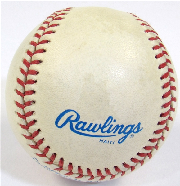 Dan Quisenberry GU 1985 WS Signed Ball