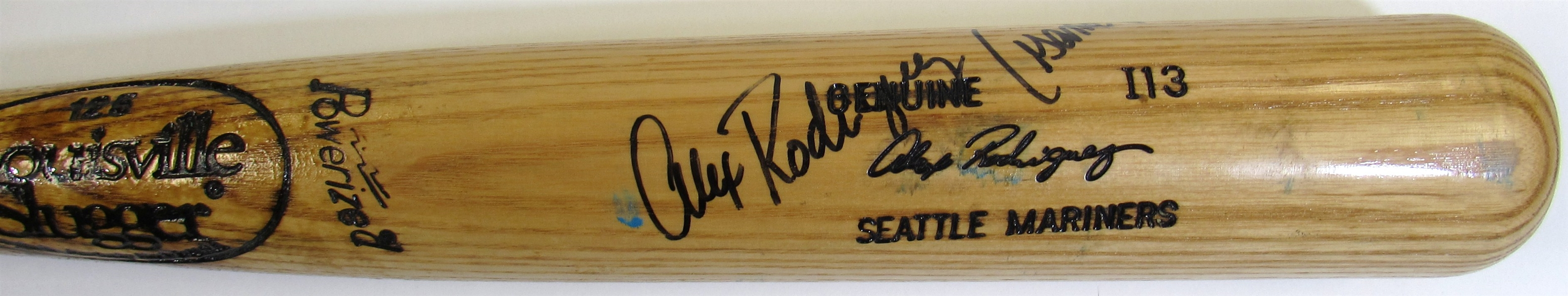 1996 Alex Rodriguez Game Used Bat Signed