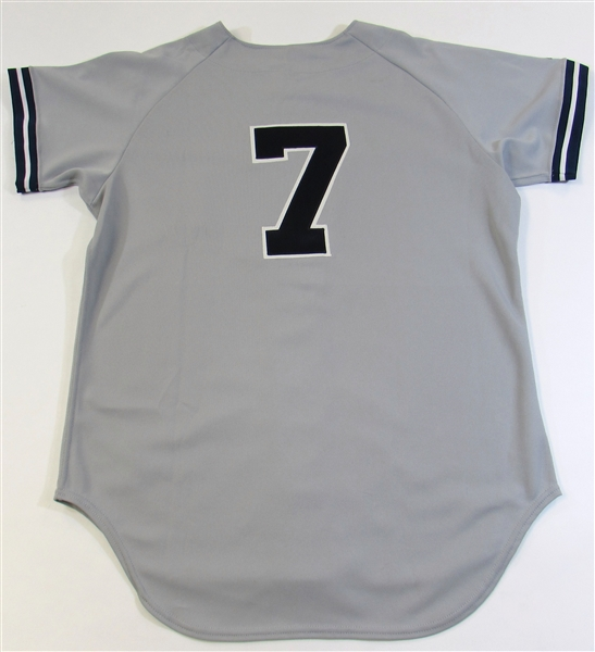 Mickey Mantle Signed Jersey