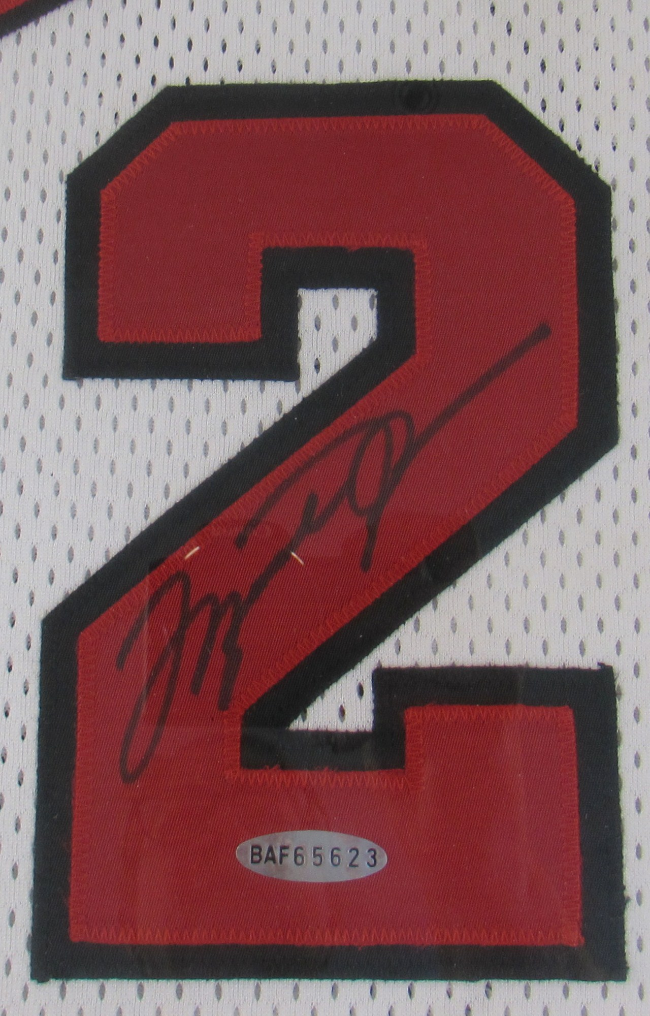 cheap for discount 56e58 a6810 Lot Detail - 1998 NBA Finals Michael Jordan GI Signed Jersey
