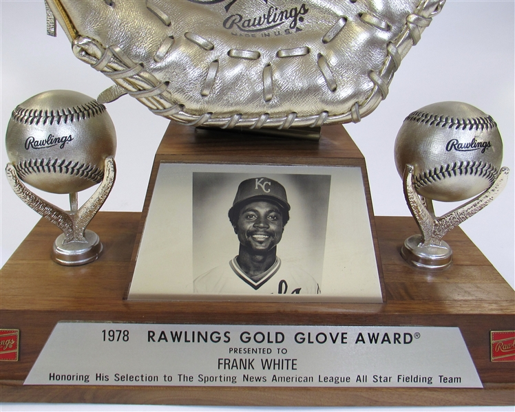 1978 Frank White Gold Glove