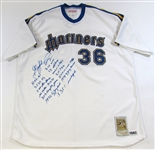 Gaylord Perry Signed Mariners Jersey W/ 13 Insription