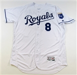 2017 Mike Moustakas GU Jersey (HR Record)