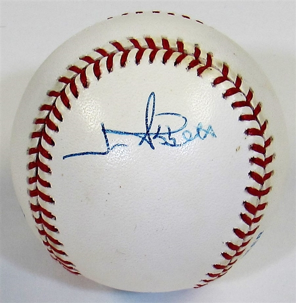 Jim Abbott Signed Ball