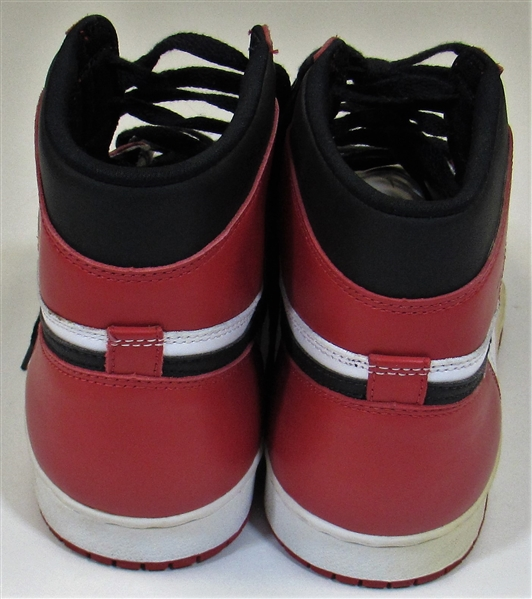 1985-86 Michael Jordan Game Used Nike Shoes & Socks