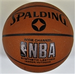NBA Greats Signed Basketball W/ Pistol Pete Maravich