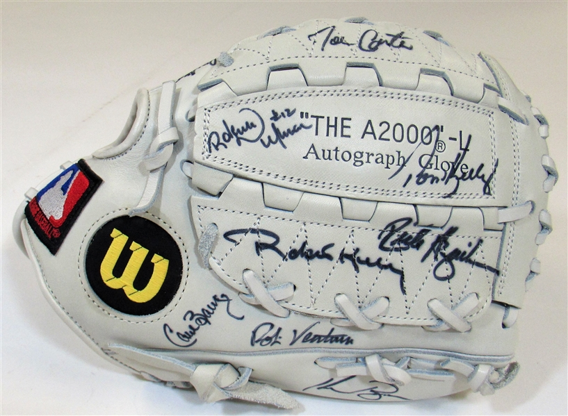 1992 All-Star Game A.L. Team Signed Glove