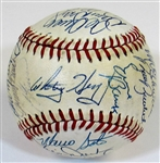 1983 N.L. All-Star Team Signed Ball W/30 Sigs