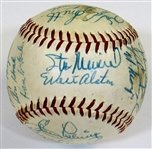 1957 N.L. All-Star Team Signed Ball W/26 Sigs