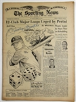 Mickey Mantle Signed Sporting News