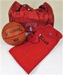 Michael Jordan Chicago Bulls Game Used Lot & Book
