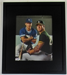 Mark McGwire & Kevin Seitzer Signed Photo