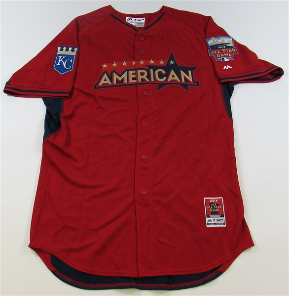 2014 Salvador Perez Signed All-Star Jersey JSA