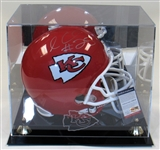 Jamaal Charles Signed KC Chiefs Full Size Helmet PSA