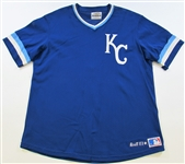 1983 George Brett Game Used Signed Batting Practice Jersey