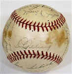 1936 N.Y. Yankees Team Signed Ball