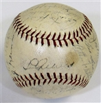 1938 NY Yankees Team Signed Ball (Gehrig)