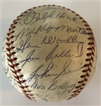 NY Yankees 1953 Team Signed Ball (Mantle)