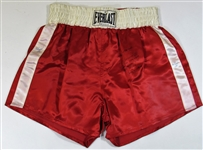 Muhammad Ali 3 x time signed Boxing Trunks