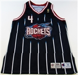 1996-97 Charles Barkley Game Worn Houston Rockets Jersey
