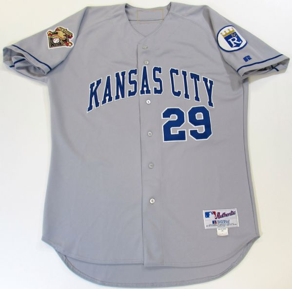 2001 Kansas City Royals Mike Sweeney Game Used Jersey