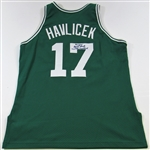 John Havlicek Boston Celtics Signed Jersey LOA Hoopsig
