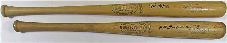 Lot Of 2- Signed Bats (Bert Campaneris & John Mayberry)