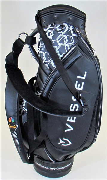 Charles Barkley Signed Golf Bag from American Century Limited Edtion