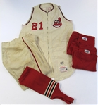 1963 Cleveland Indians Bob Chance jersey