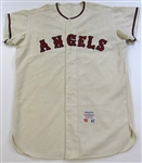 1965 L.A. Angels Game Used Marcelino Lopez Jersey
