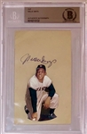 Willie Mays Circa 1950s Autograph