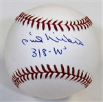Phil Niekro Single Signed Baseball - Authenticated.