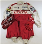 Derrick Thomas Toyota Full Racing Suit and Jacket