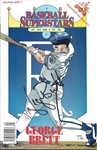 George Brett Signed Comic Book