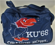 Kansas Jayhawks 1968 Orange Bowl Travel Bag
