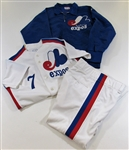 1984 Bill Virdon Expos Game Used Uniform & Jacket