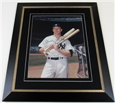 Mickey Mantle Signed NY Yankees 16x20 Framed Photo Jsa