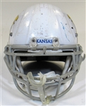 Kansas University Game Used Football Helmet
