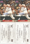 Lot of 2- Al Kaline Limited Edition Auto Trading Card - MLBPA