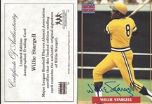 Willie Stargell Signed Limited Edition Card - MBPLA