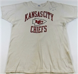 Ken Kremer Kansas City Chiefs #91 Signed Practice Shirt