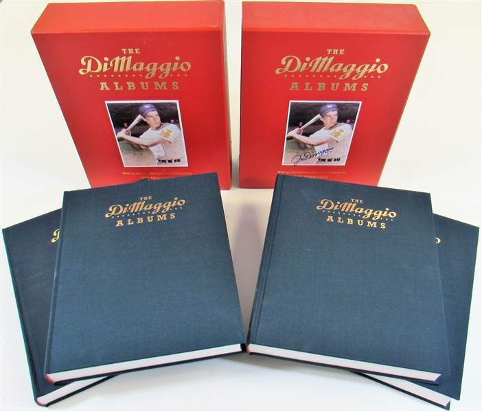 Joe DiMaggio Signed x Three  The DiMaggio Albums Books