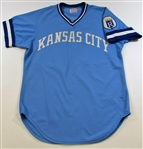 1979 Paul Splittorff Game Used Road Royal Blue Jersey