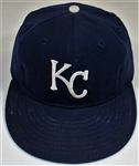 1973 Steve Busby Game Used Kansas City Royals Cap
