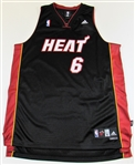Mario Chalmers Signed Miami Heat  Jersey