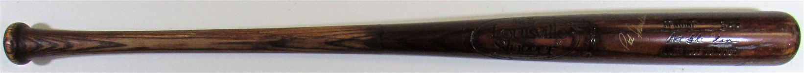 1980-83 Pat Sheridan Game Used & Signed Bat