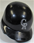 1995-97 Quinton McCracken Game Used Rockies Batting Helmet