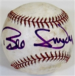 Bill Snyder Signed K-State Baseball in Purple